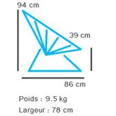 Dimensions du fauteuil Acapulco_2